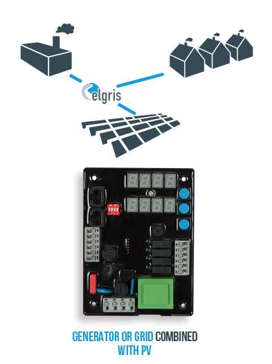 Basic HYBRID Diesel-PV controller