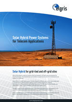 thumbnail of hybrid solar system for telecom