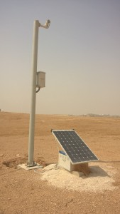 Solar power supply for camera systems
